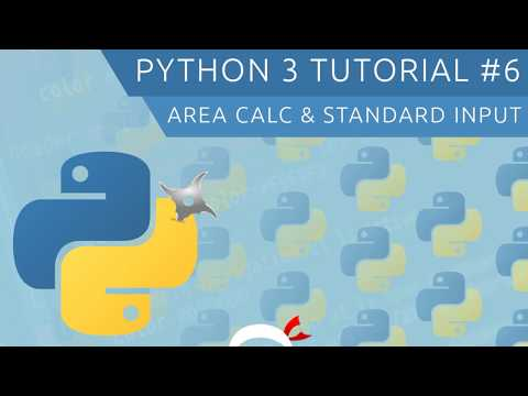 Python 3 Tutorial for Beginners #6 - Standard Input