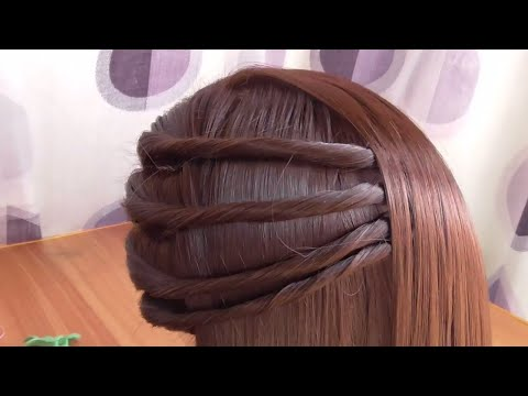 Simple Side Twist Hairstyle || Hairstyle In 2 Minutes