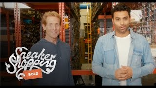 Skip Bayless Goes Sneaker Shopping with Complex