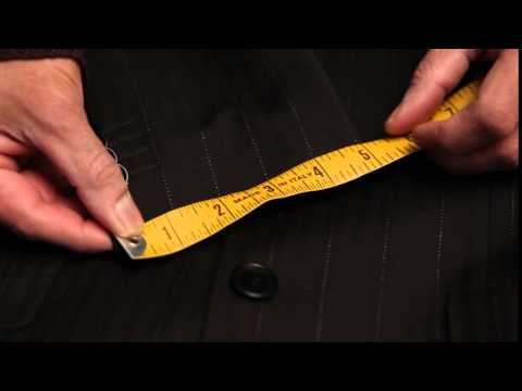 How to measure Jacket Sleeve Cuff