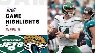 Jets vs. Jaguars Week 8 Highlights   NFL 2019