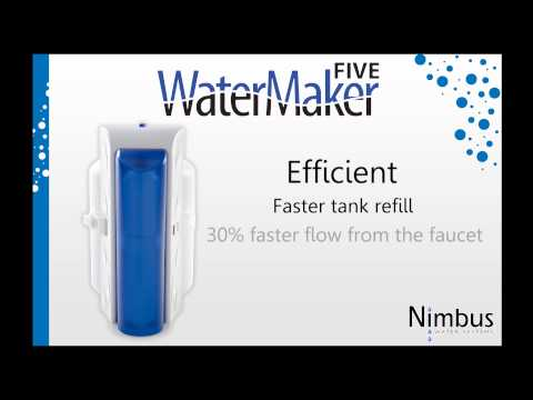 WaterMaker Five Promotional Video - Nimbus Water Systems