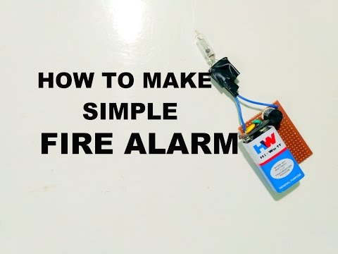 How to Make a Fire Alarm System