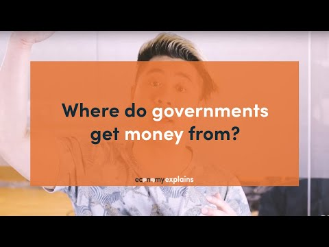 Where do governments get money from? - Economy Explains: Taxes