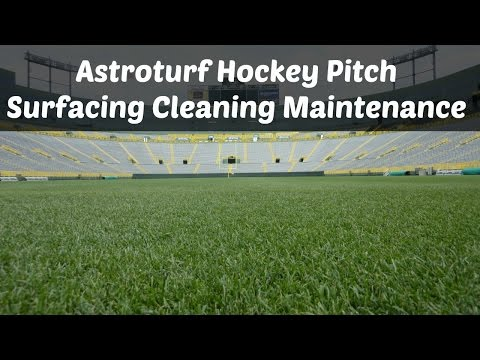 Astroturf Hockey Pitch Surfacing Cleaning Maintenance