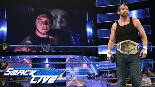 Baron Corbin launches a sneak attack on Dean Ambrose: SmackDown LIVE, March 7, 2017
