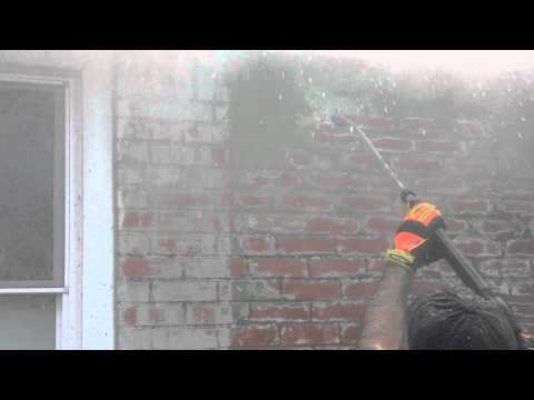 How to remove 3 layers of paint from red brick