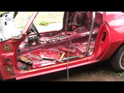 Roll Bar Installation - Building a Pure Stock Race Car