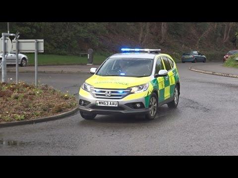 Welsh/Wales Honda Ambulance Responding [1080p, 60fps]