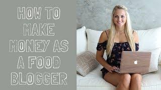 HOW TO MAKE MONEY AS A FOOD BLOGGER I CARINA BERRY