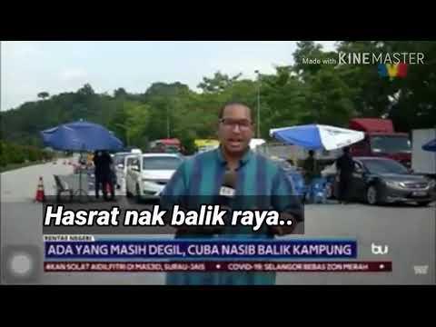 HASRAT NAK BALIK RAYA.. Salam Aidilfitri PKPB 2020,Maaf Zahir Batin.