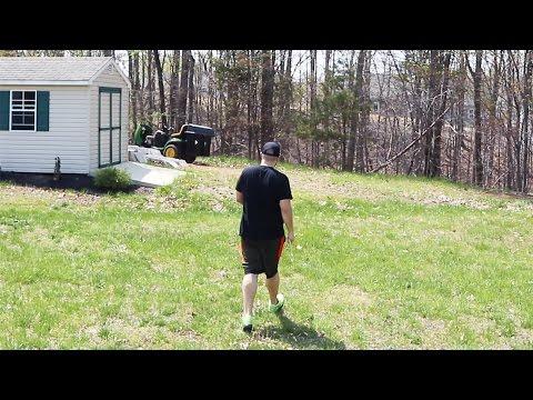 Making A Football Field In My Backyard!