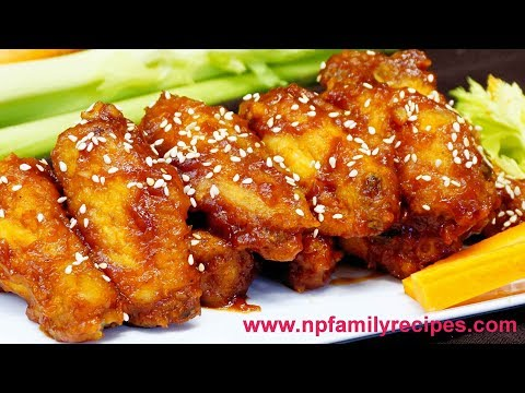 Spicy Ketchup Chicken Wings Recipe - NPFamily Recipes