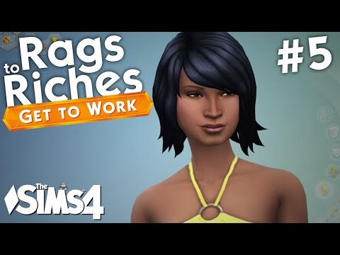 The Sims 4 Get To Work - Rags to Riches - Part 5