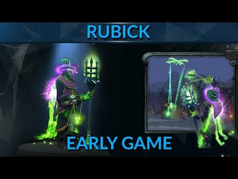 How to win early game with Rubick - ZXYC pro guide 7k MMR