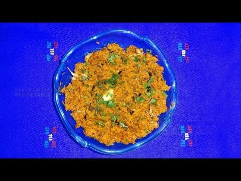 Coconut Chutney for Rice Combination (కొబ్బరి పచ్చడి) - Telugu Vantalu