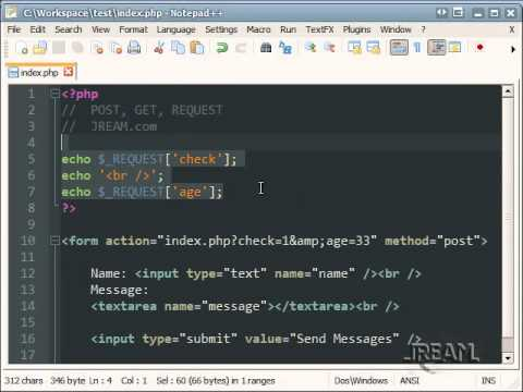 PHP POST, GET, REQUEST Tutorial | 5