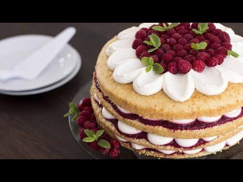 Raspberry Vanilla Cake Recipe