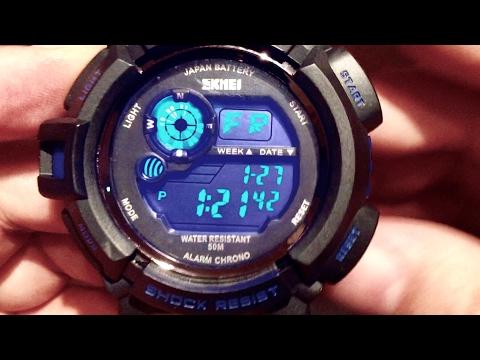 $12 Fanmis Skmei S-Shock Multi Function Digital LED Quartz Sports Watch