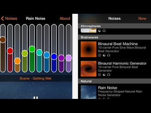 myNoise for iPhone: Noise Generator App