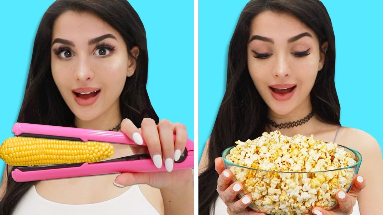 Trying FOOD Life Hacks to see if they work