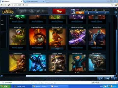 League of Legends 400 RP for free on EU West
