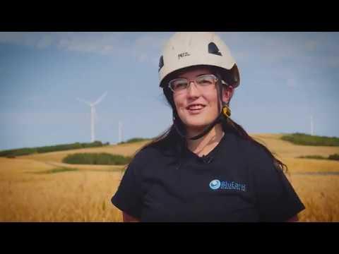 WATCH: On the job with Kyla Bakke, a wind turbine technician in Alberta — Today's Energy Jobs