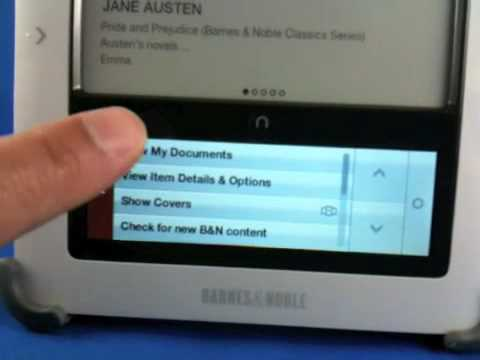Locating purchased/transferred non-BN ebooks on your nook