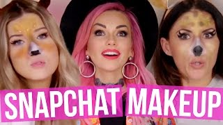 Snapchat Makeover w/ KANDEE JOHNSON (Beauty Break)