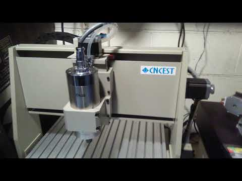 6040 4Axis Cnc Router got it running at Jackshop
