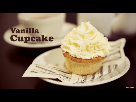 How to Make Vanilla Cupcakes with Strawberry Filling