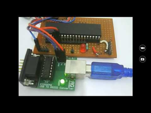 UART communication between PIC Microcontroller and Computer