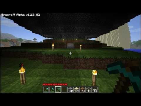 Minecraft Giant sphere