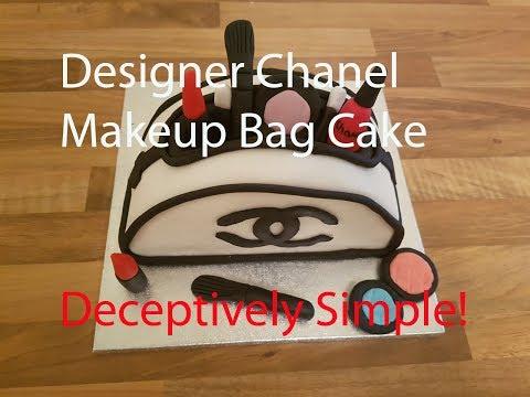 How to make a Designer Bag Cake - Chanel Design Cake for Women