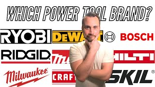 TOP Cordless Power Tool Brands   PRO vs DIY   Which one?