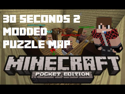 30 seconds 2 | Modded map | Minecraft PE