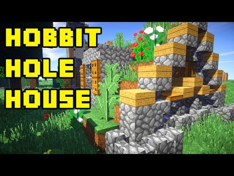 Minecraft: Hobbit Hole House Tutorial Xbox/PE/PC/PS3/PS4