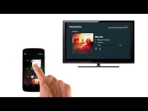 Chromecast: How to cast using Pandora