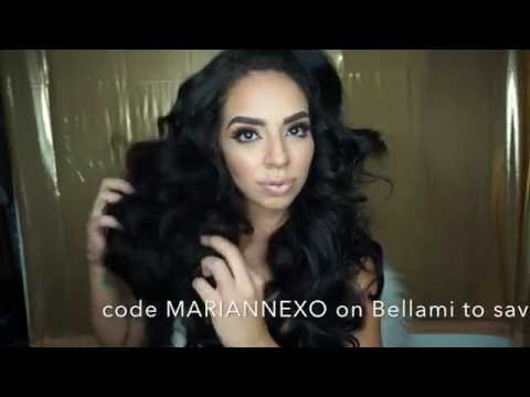 How to Clip Hair Extensions (for medium and short hair) using Bellami Hair Boogatti Set