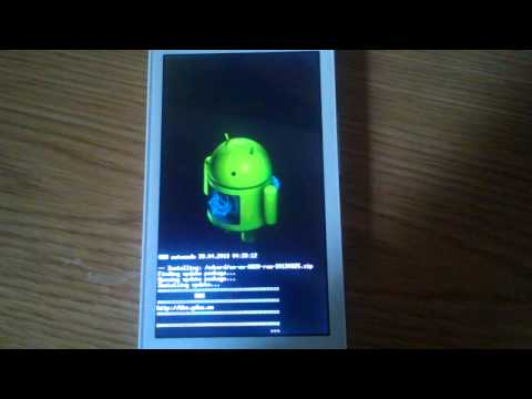Lenovo a820 reboot while install ROM.