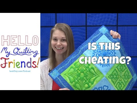 Is This Quilt Cheating? Great Quilting Debate with Leah Day
