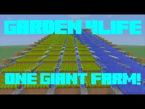 Minecraft Xbox 360 Edition Giant Auto Wheat Farm (Garden 4LIFE)