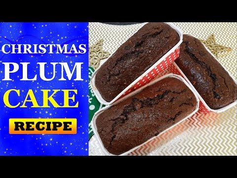 Easy Quick Christmas Plum Cake Recipe | No Alchohol No Soak Christmas Cake.