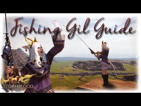 FFXIV Stormblood: Gil Making Fishing Guide - Everdeep Aethersand