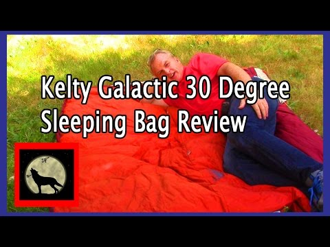 A Year With The Gear-Kelty Galactic 30 Degree Sleeping Bag Review