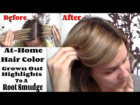 Root Smudge | How To Blend A Highlighted Demarcation Line At Home
