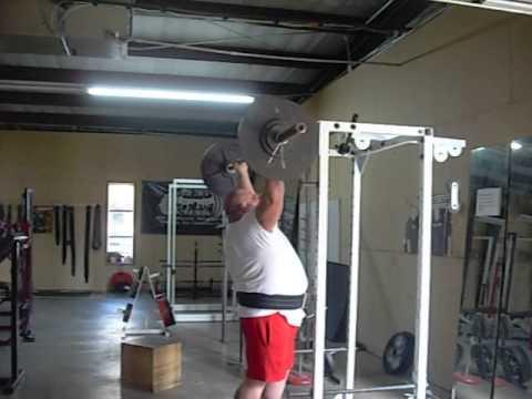 Darden training week 1 OHP 150