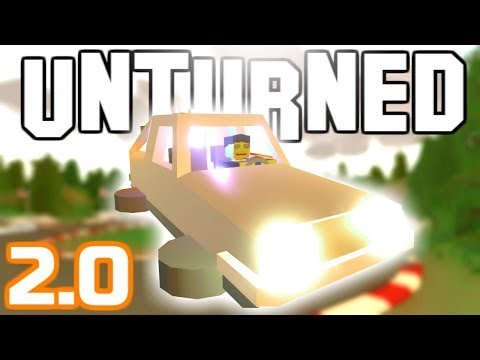 TIME MACHINE PUTS ME BACK TO 2.0! (Unturned)