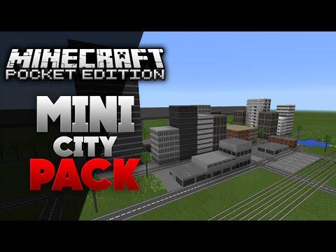 Mini City Texture Pack [0.15.1] - Minecraft PE (Pocket Edition)