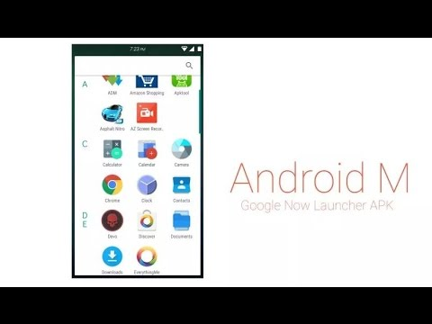 Install Android M Launcher on Android KitKat and Lollipop